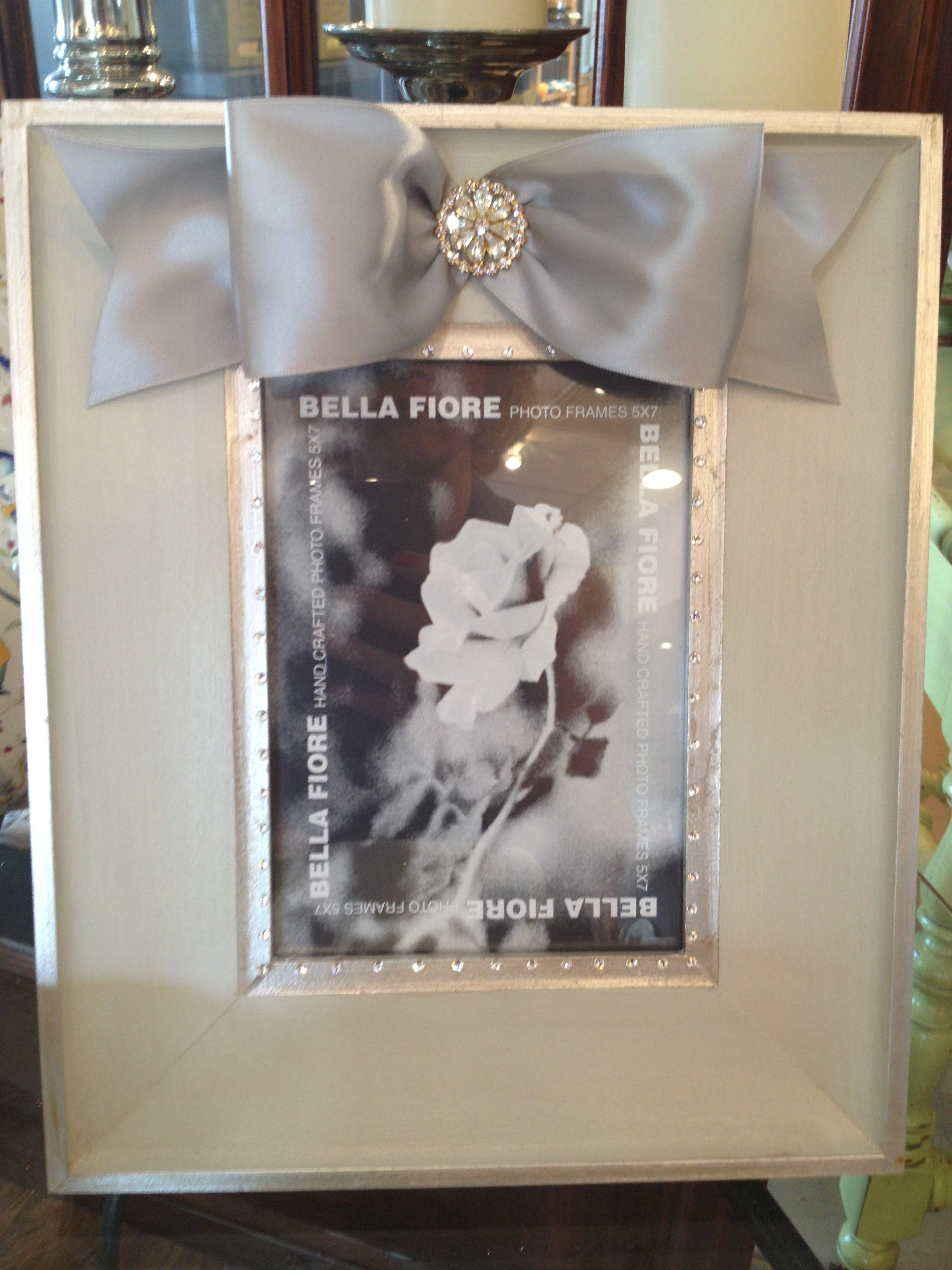Silver and white bella fiore frame mary tuttles flowers and silver and white bella fiore frame mary tuttles flowers and gifts chesterfield jeuxipadfo Gallery