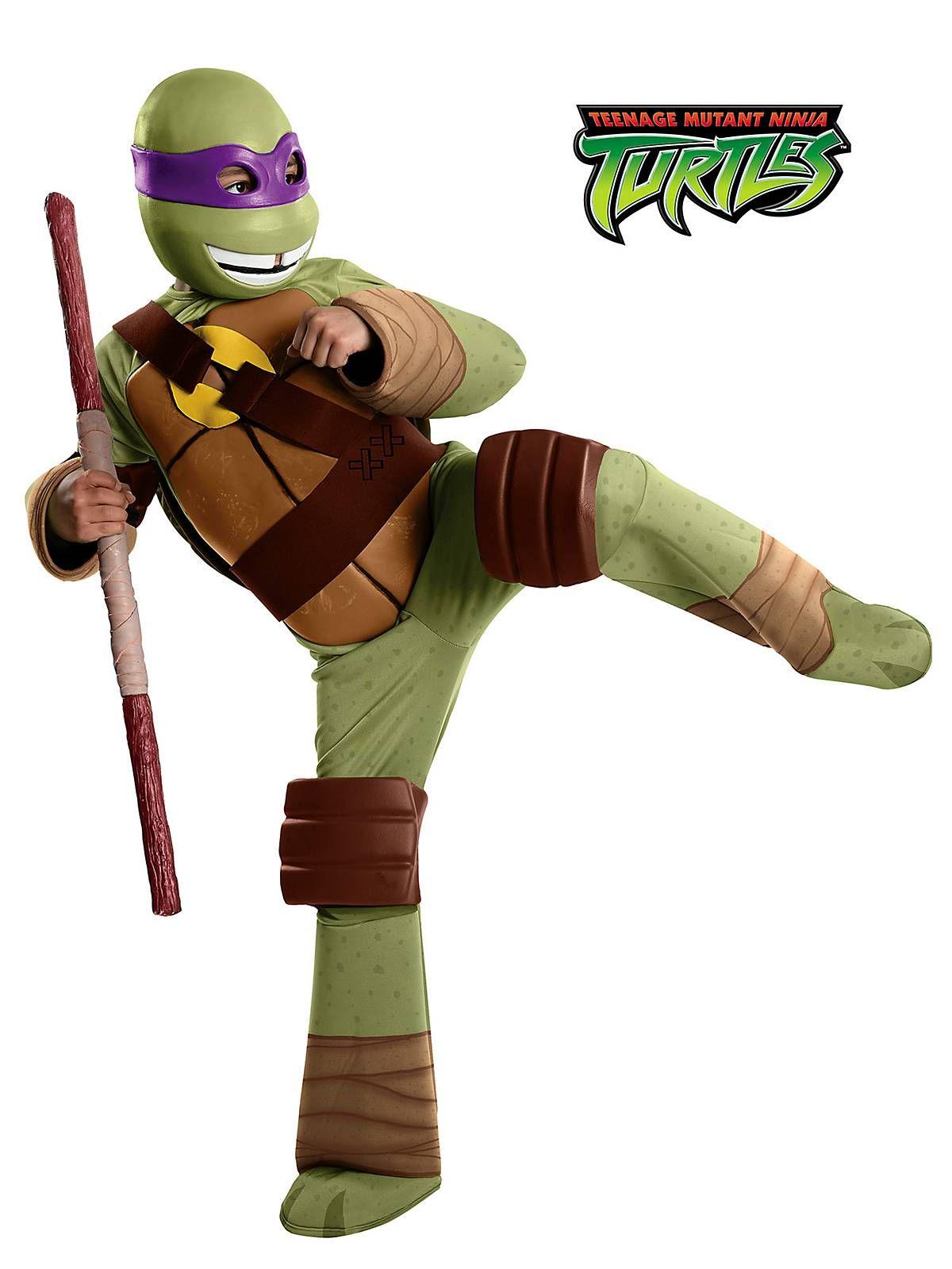 Boys Deluxe TMNT Donatello Costume | Cheap Teenage Mutant Ninja ...