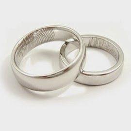 Cincin Kawin Model Terbaru 2014 Dengan Desain Sidik Jari Bisa Di Buat Dengan Jenis Logam Seperti Emas Palladium Perak Da Plati Dengan Gambar Cincin Kawin Cincin Perak
