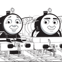 Fun Thomas Friends Coloring Page Thomasandfriends Coloringpages Train Coloring Pages Thomas And Friends Coloring Pages