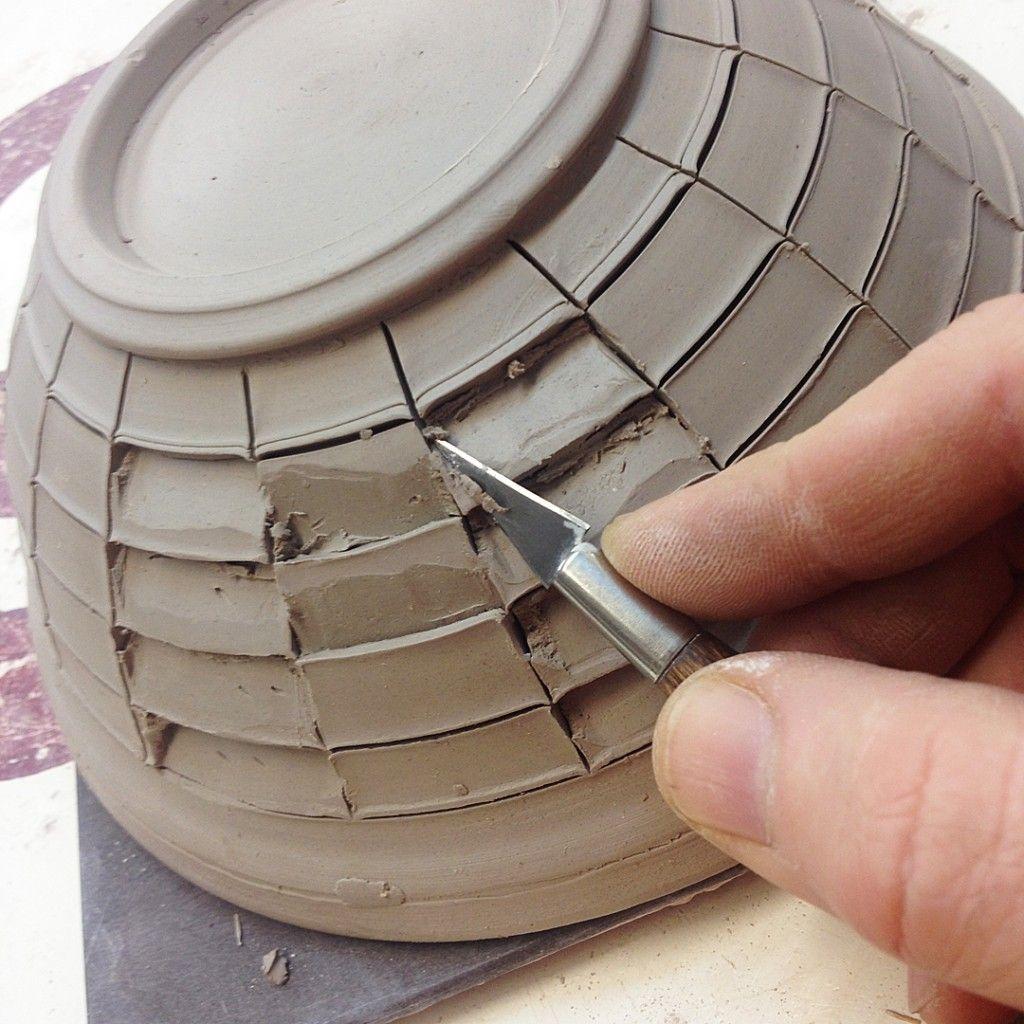 Beveled bowl 2 pinterest cer mica barro y arcilla for Arcilla para ceramica