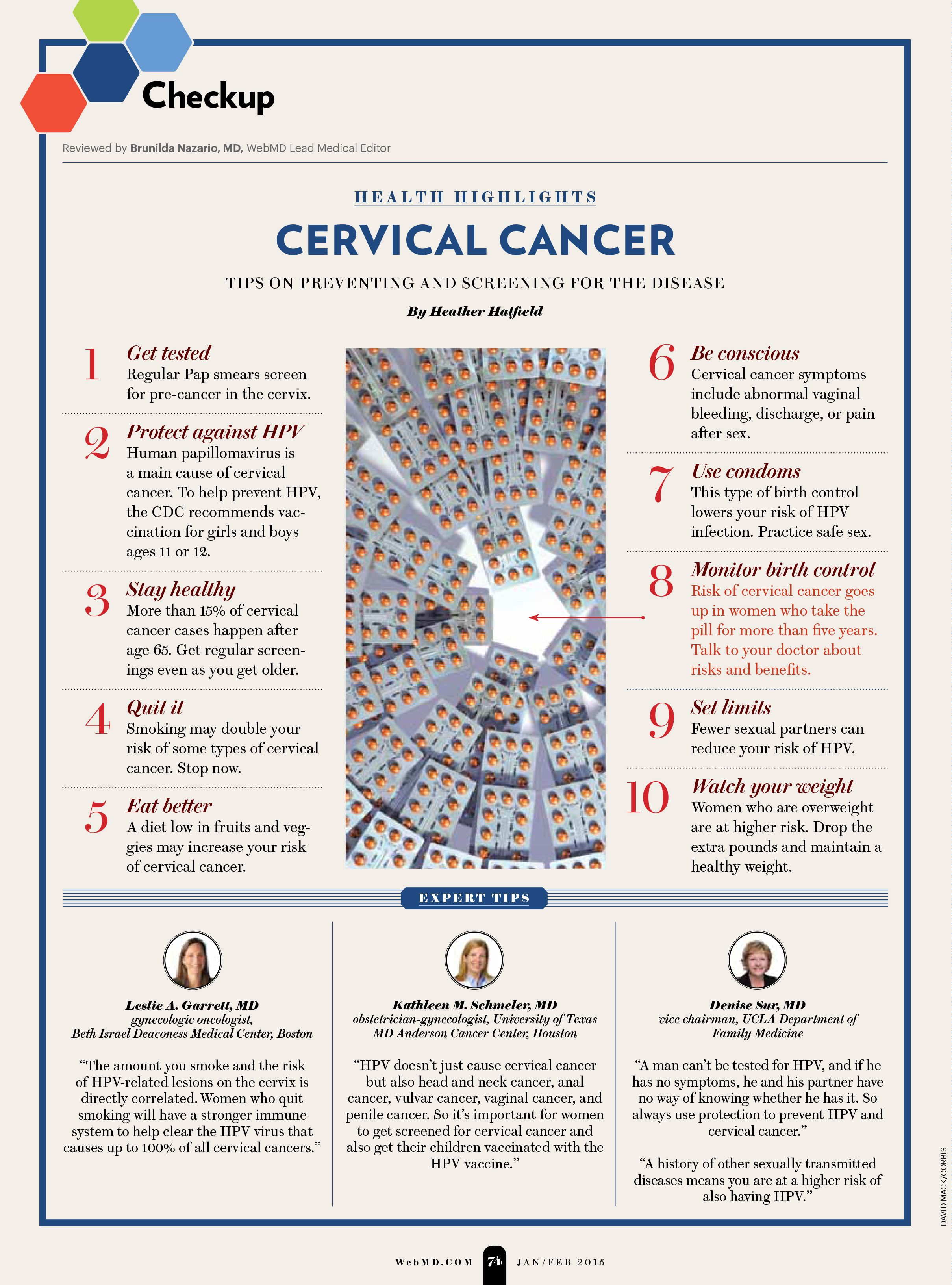 Womens Health: Cervical Cancer Prevention