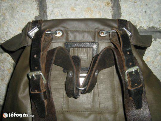 Svajci Katonai Hatizsak 7 Image Leather Canvas Leather