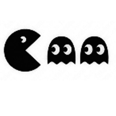 pac man stencil pac man large class of 2016 pinterest stencils
