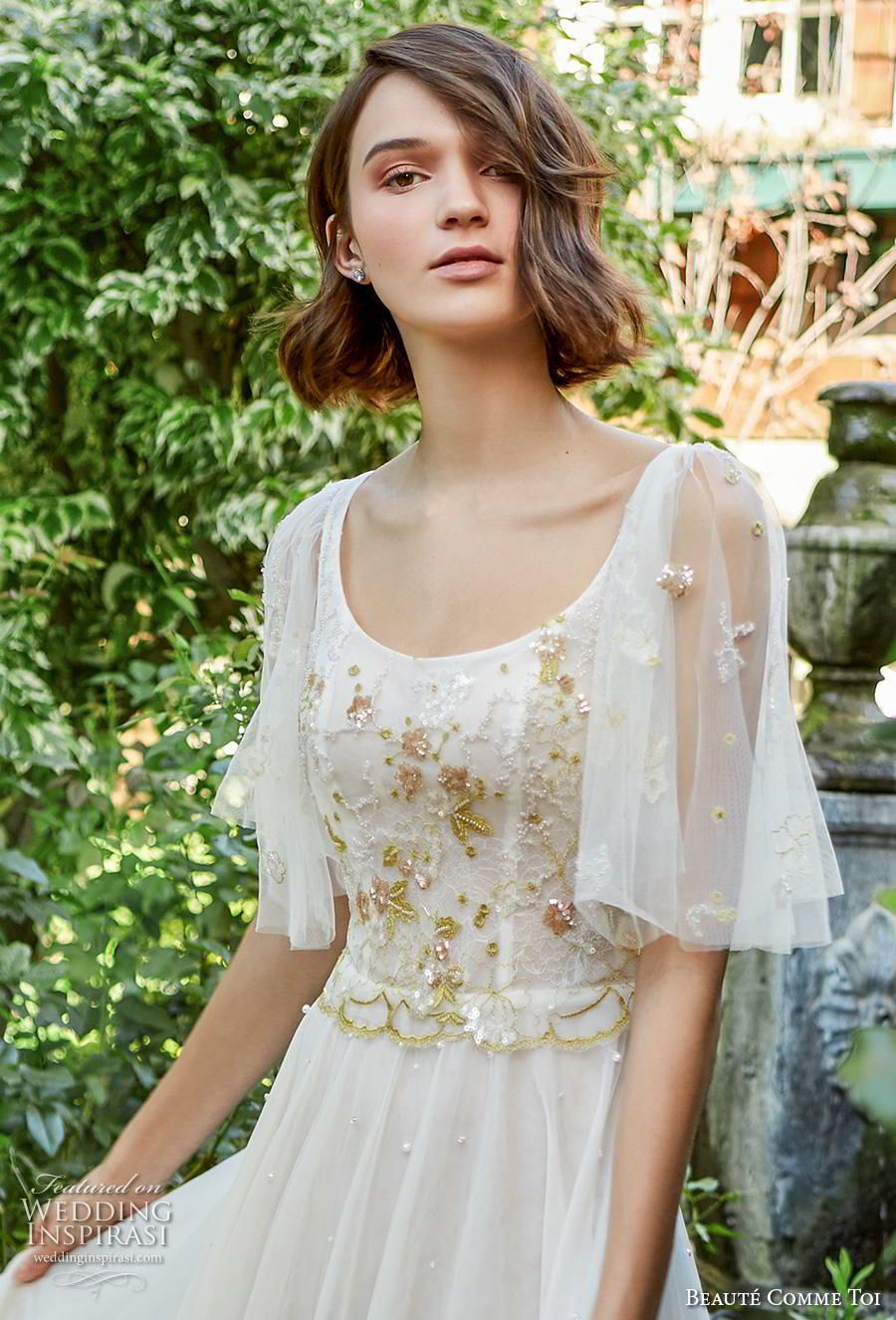 "Beauté Comme Toi Fall/Winter 2020 Wedding Dresses — ""Kiss"