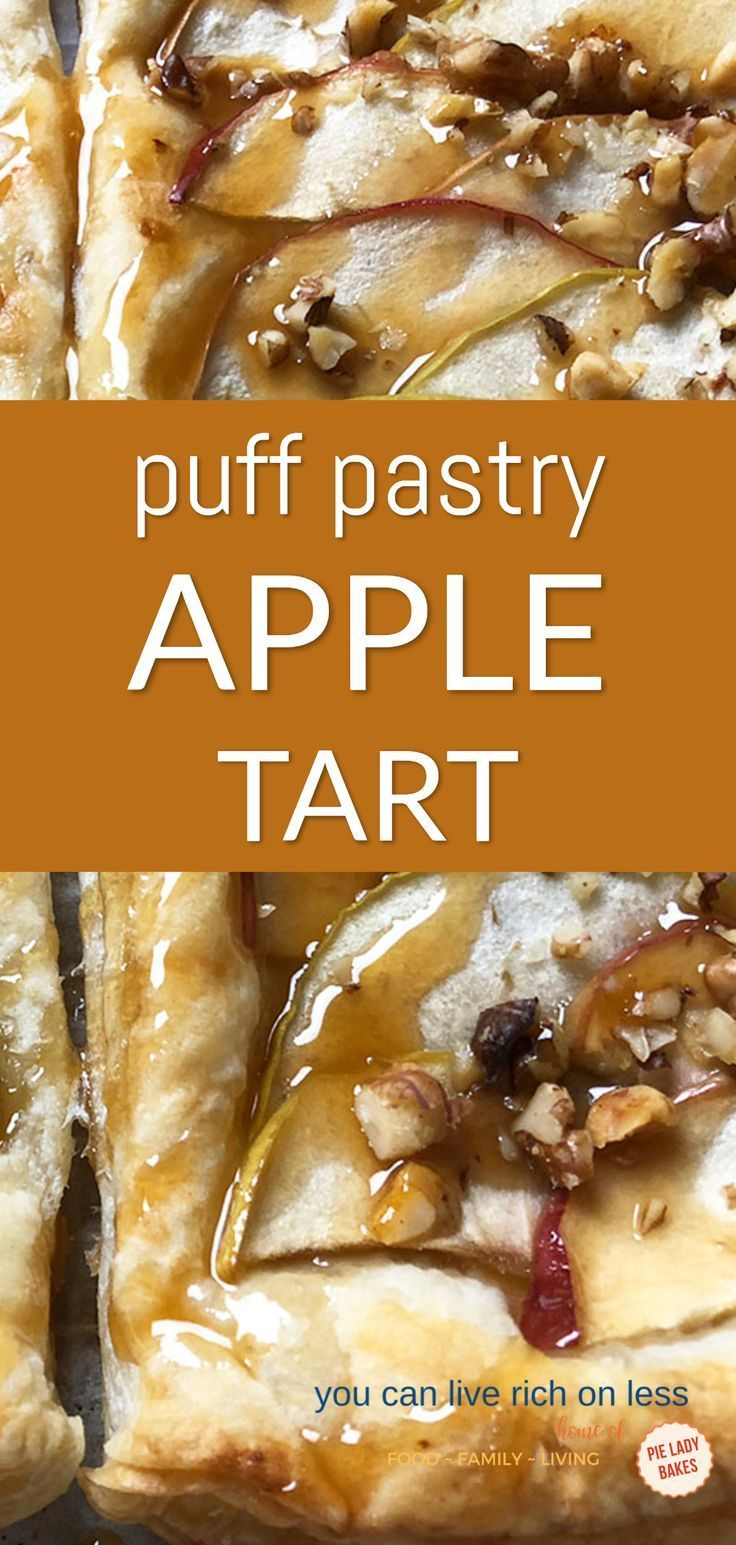 Amazing Apple Pie in Puff Pastry Recipe