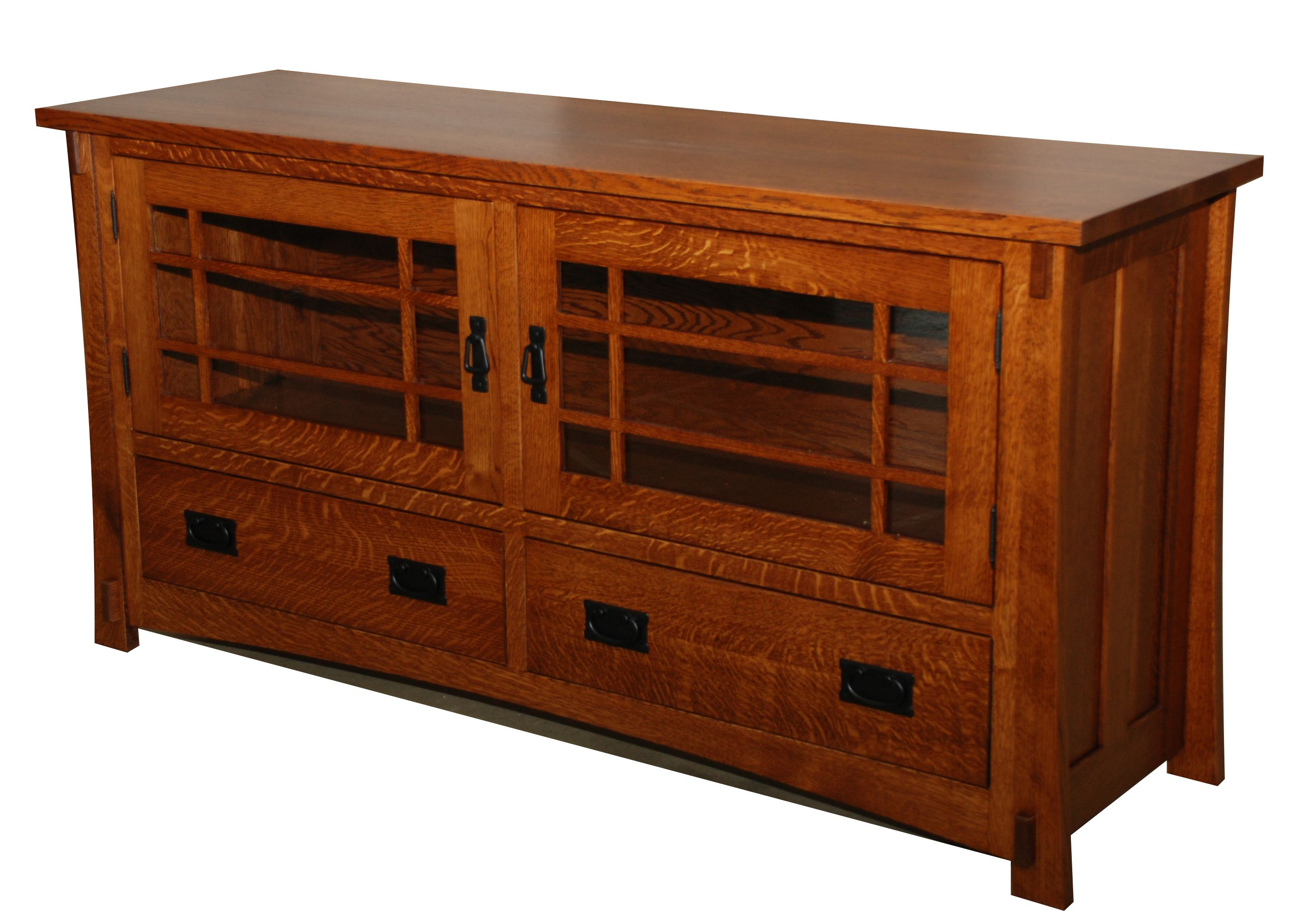Dutch County Mission Entertainment Stand Amish Valley Products Craftsman Style Furniture Craftsman Furniture Mission Style Furniture