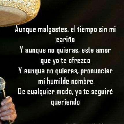 Pin De Luz Reynoso En Lindas Frases Frases De Canciones Citas Célebres De Canciones Canciones