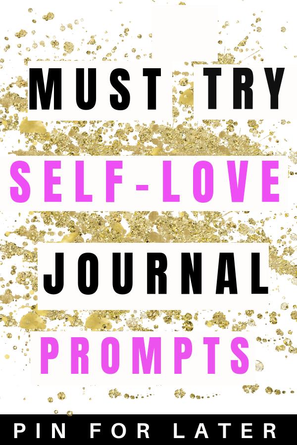 Self-Love Journal Prompts #mentalhealthjournal
