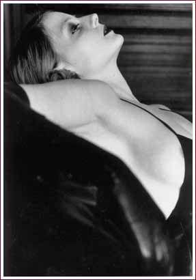 Jodi Foster by Helmut Newton