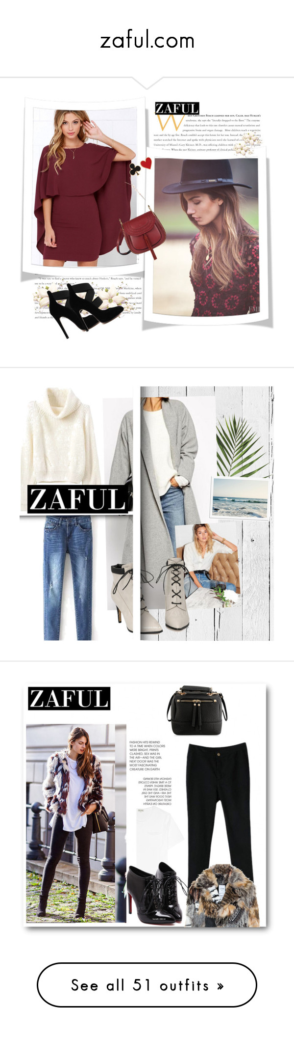 """""""zaful.com"""" by bellamonica ❤ liked on Polyvore featuring polyvoreeditorial, NLXL, Arche, OKA, Once Upon a Time, CENA, White Stuff, Smythson, Marie Hélène de Taillac and Order Home Collection"""