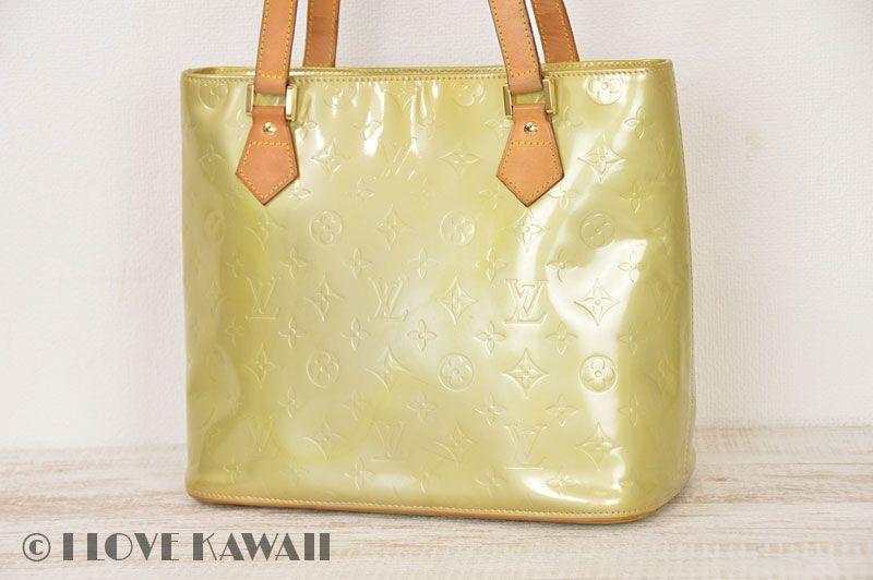 b5f9b3f6670f1 Louis Vuitton Silver Vernis Houston Shoulder Bag M91053