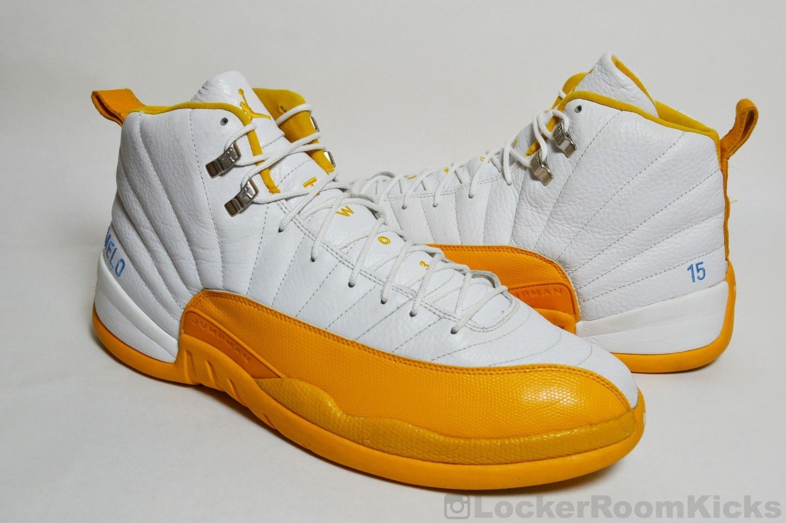 Air Jordan XII 12 Player Exclusive Sz 15 Carmelo Anthony PE Sample Promo  Nuggets e71ab77dd