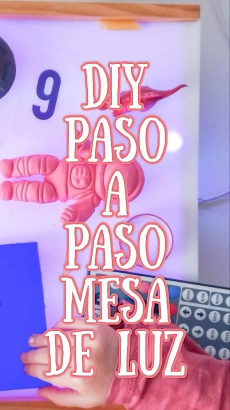 Diy Caja De Luz Low Cost Con Una Caja De Vino Mamá Low Cost Video In 2020 Montessori Activities Diy Projects For Adults Homemade Crafts