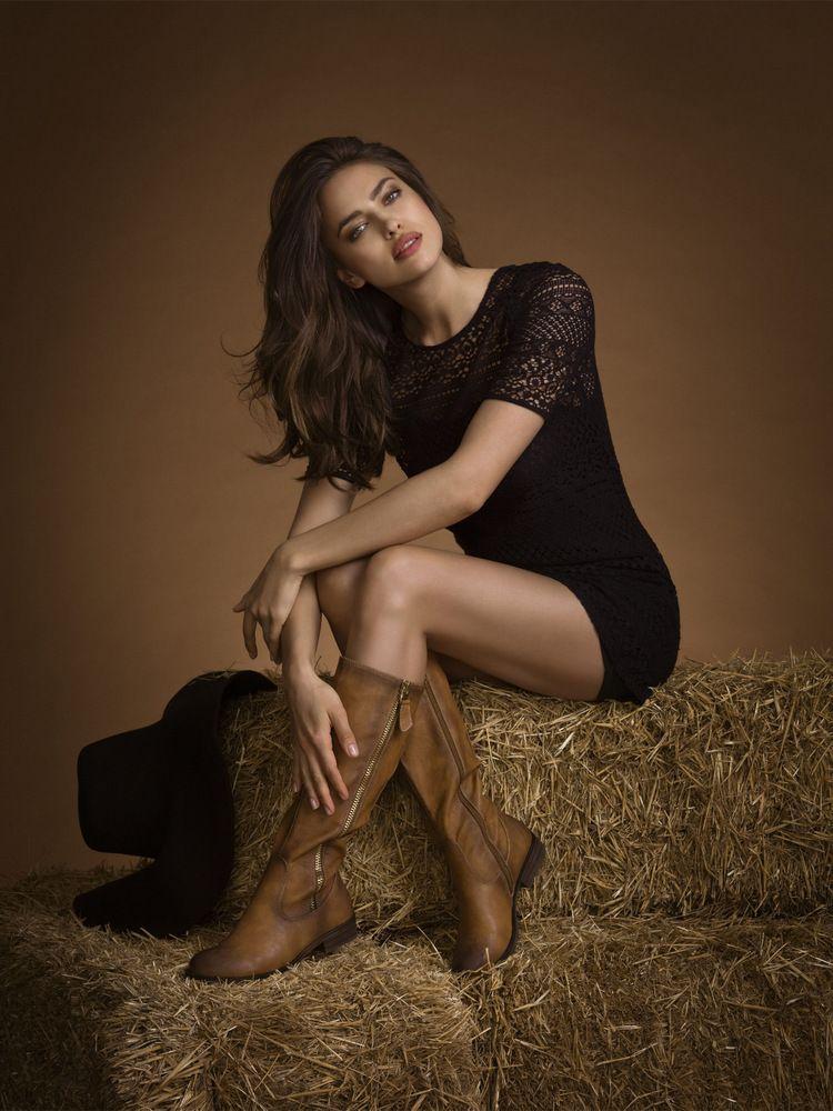 Irina Shayk for XTI FW 2014 - Celebrity Like and Shared