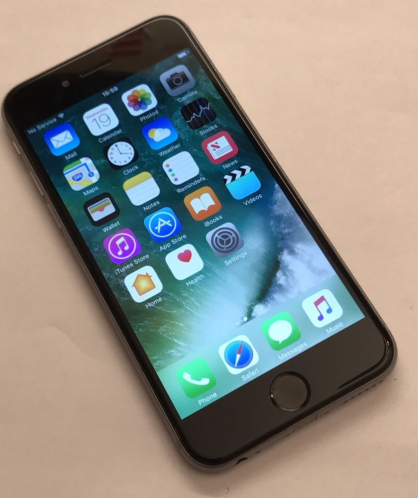 Apple Iphone 6s 64gb Space Grey Unlocked Smartphone Very Good 6 Condition