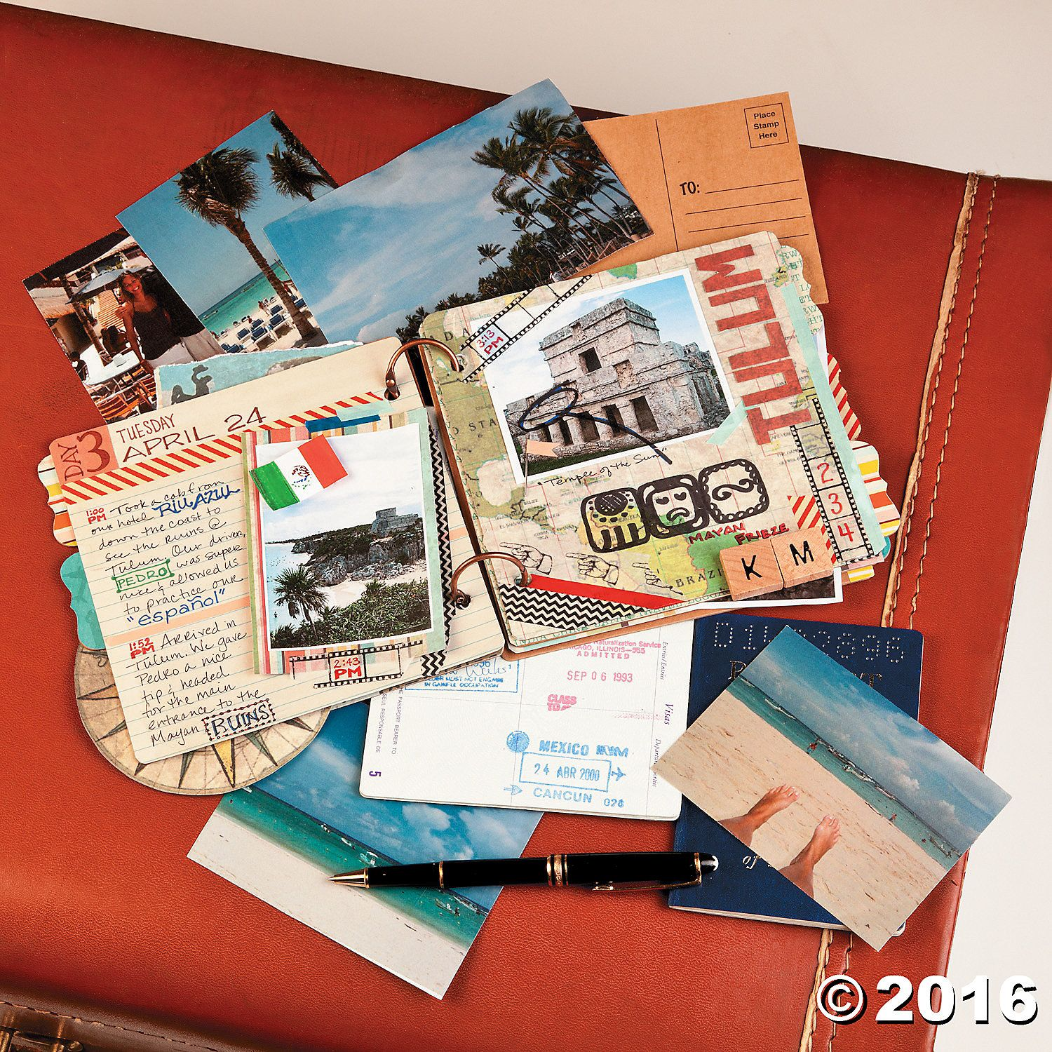 Design Your Own Scrapbook With This Ring Board Book Capture Every