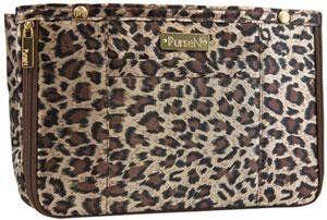 86a341a1a52a PurseN Medium Handbag Organizer Insert Leopard   Leopard PurseN.  44.39