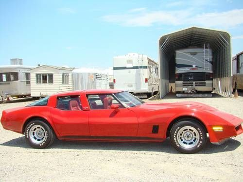 Rare 1980 C3 Original 4 Door only 4 were made only 2 survived