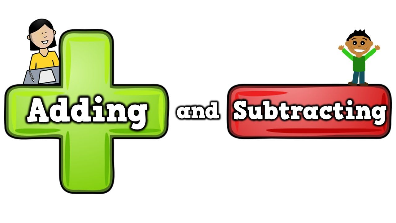Adding and Subtracting (song for kids about addition/subtracting)   Math  songs, Math subtraction, Kindergarten math
