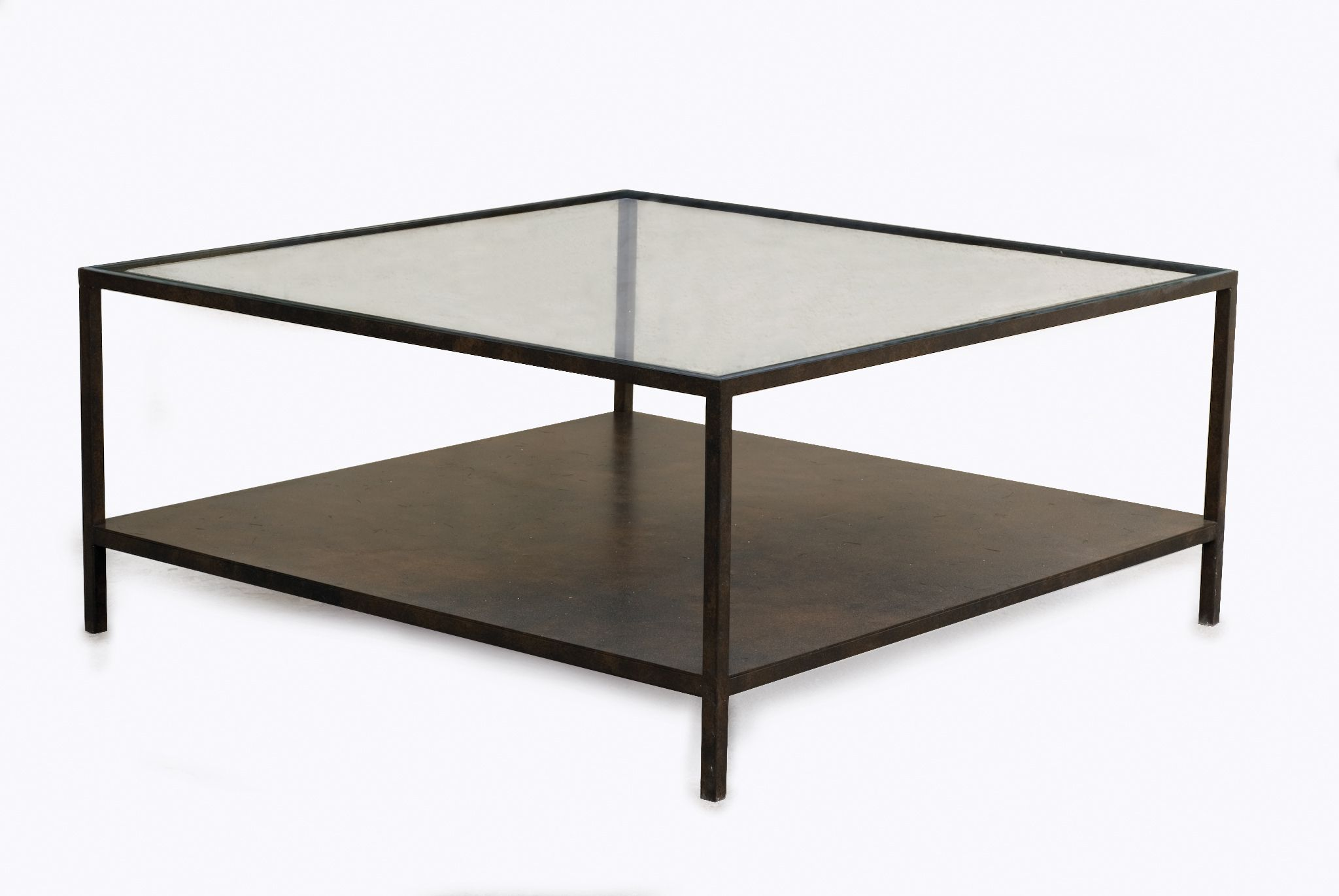 Table basse fer forge plateau verre table basse en fer for Plateau table