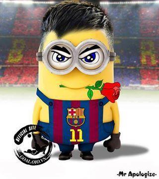 Neymar Jr. en mode minion