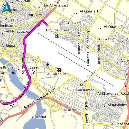 Dubai Maps And Directions on