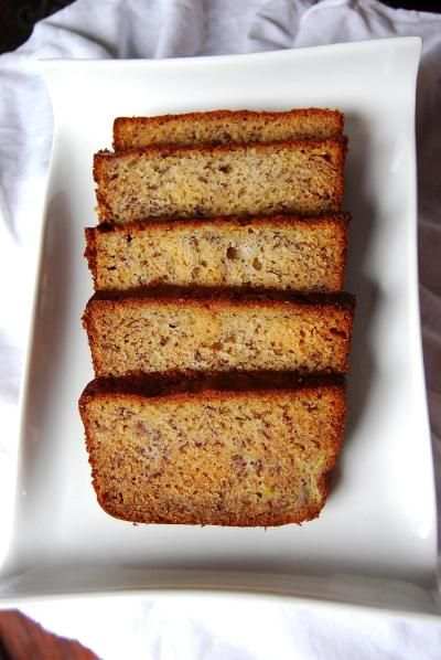 Martha Stewart banana bread - traditional style no healthy substitution