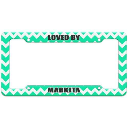 Loved By Female Names - Markita - Plastic License Plate Frame