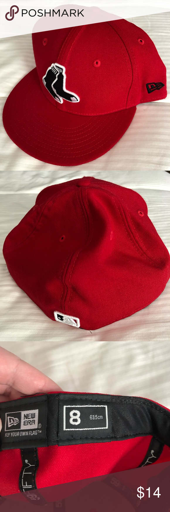 Boston Red Sox New Era 59fifty Fitted Hat Fitted Hats New Era 59fifty New Era