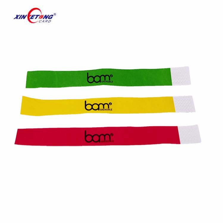 Rfid Disposable Paper Nfc Wristbands