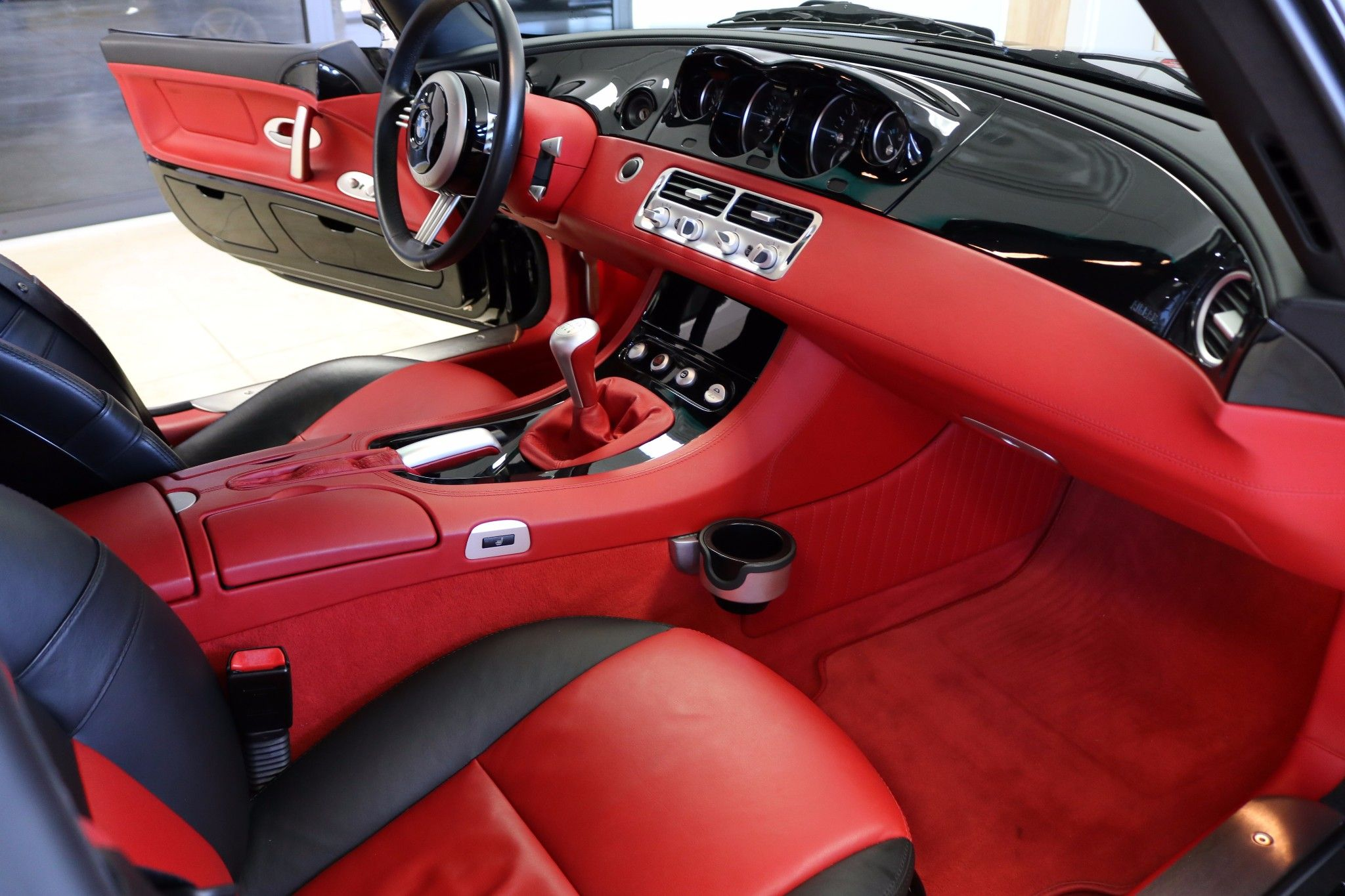 this 2001 bmw z8 has 9k miles and is a two owner example that was