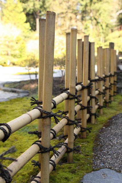 Bamboo fence @ the Japanese Garden in Portland, OR. | Pinterest ...