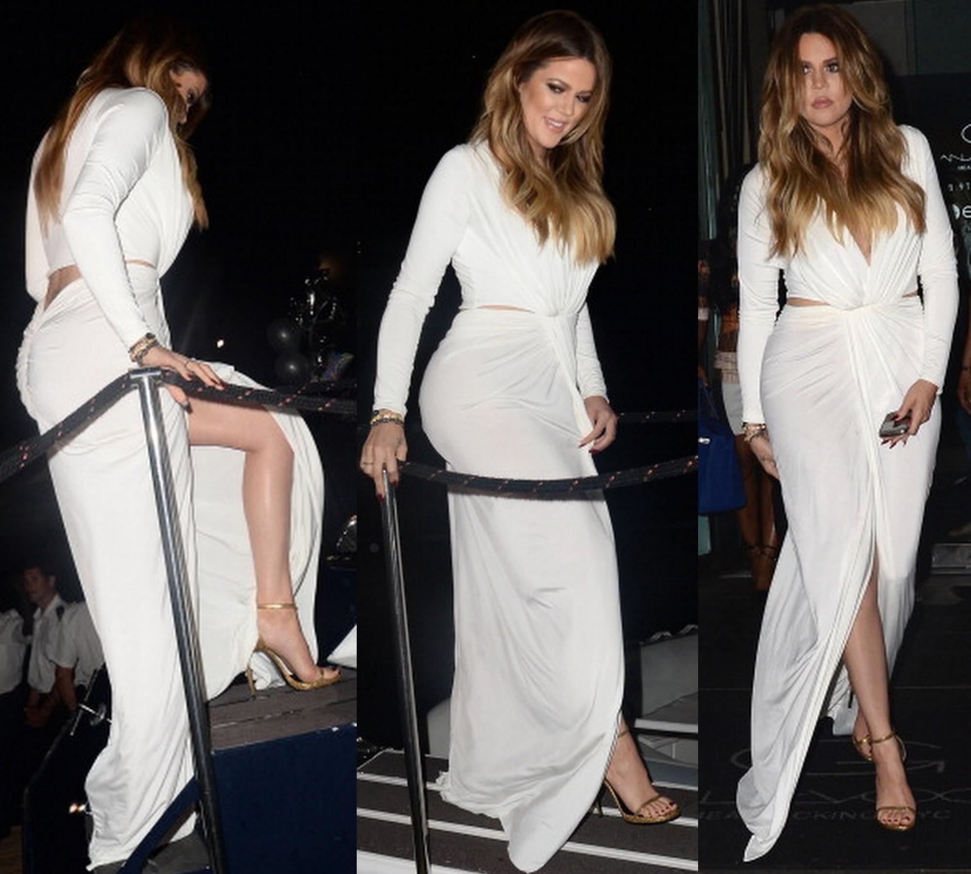 Jersey maxi evening dresses