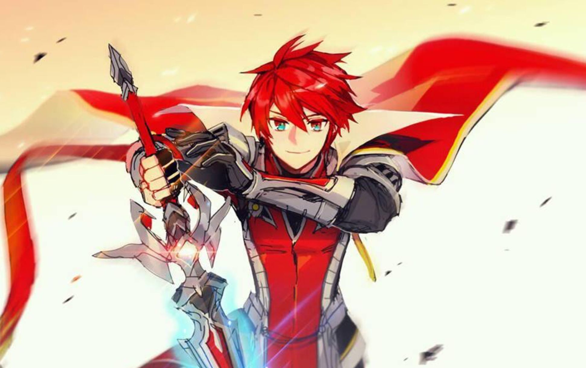 Elsword Knight Emperor Elsword In 2019 Elsword Anime Art