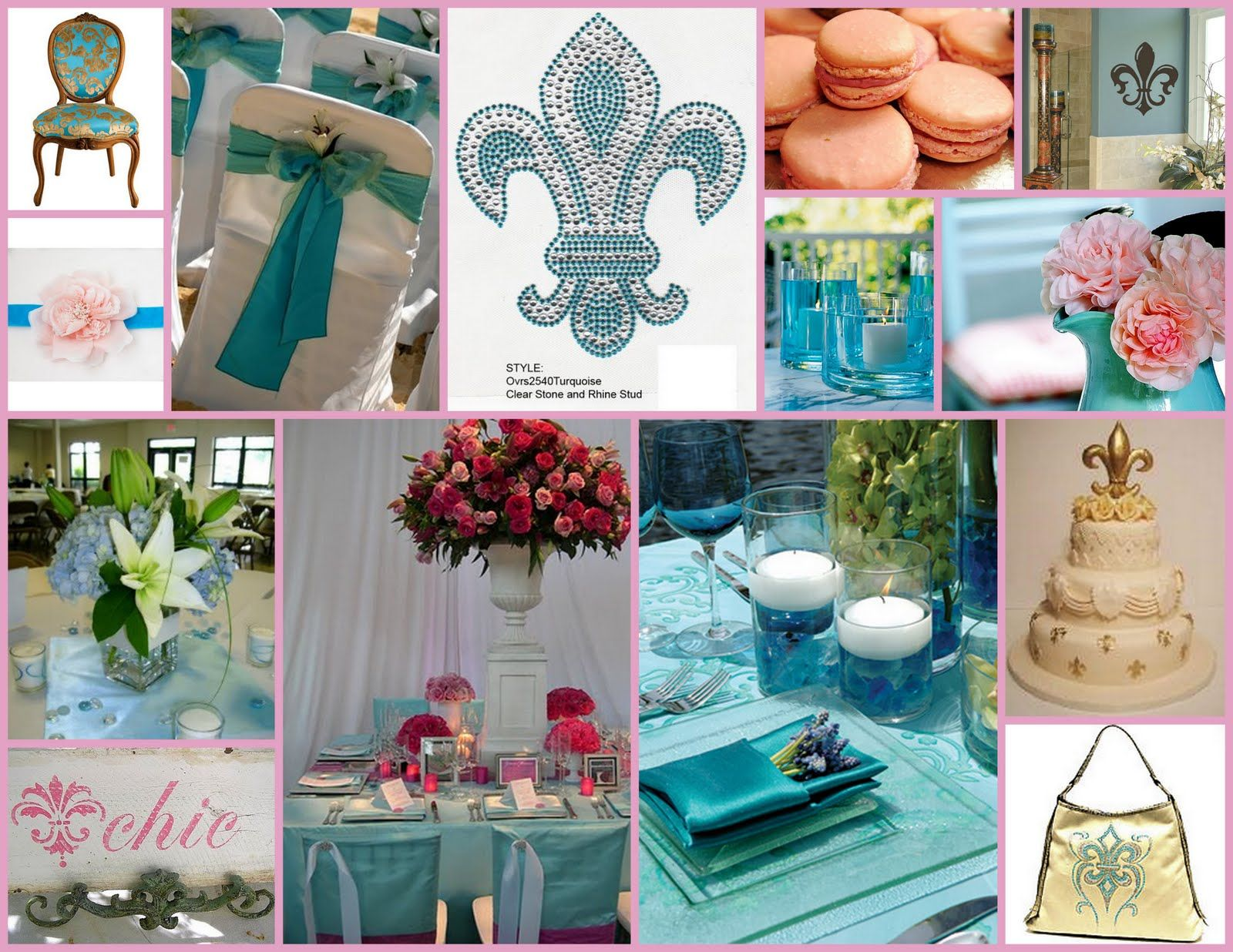 turquoise baby shower