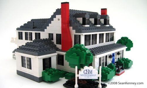 Historic House Lego Bricks By Sean Kenney Lego Home