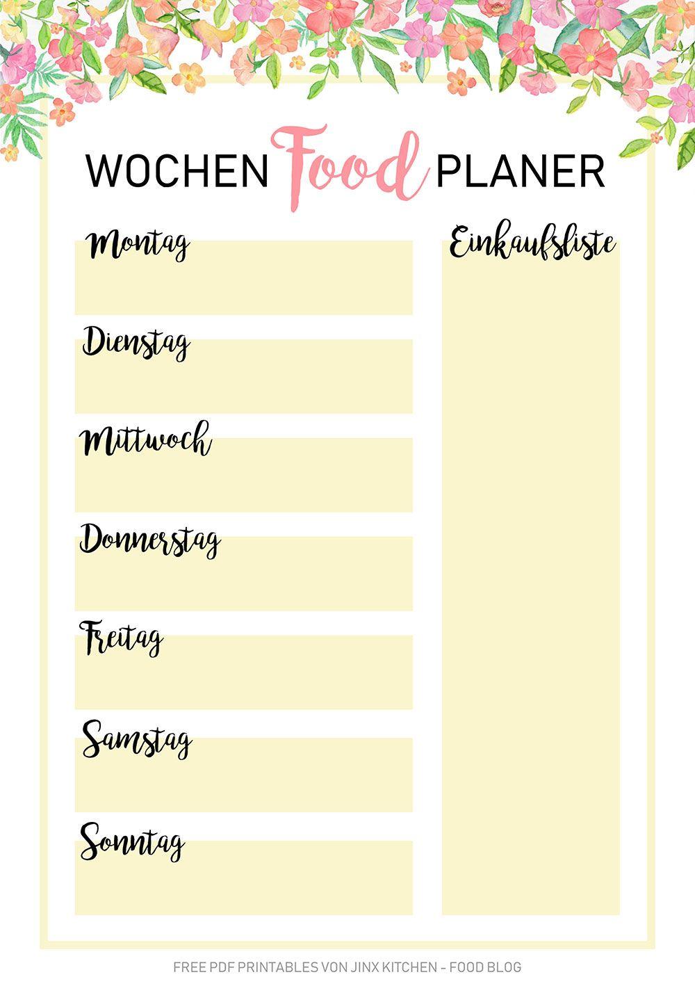 30 Tage Mahlzeit Plan zum Abnehmen pdf
