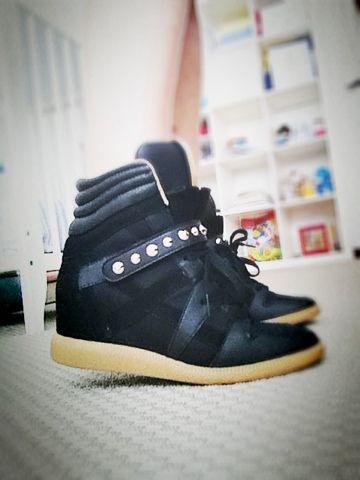 Zara wedge sneaker - As Maravilhas da Maternidade