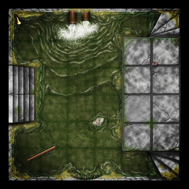 image regarding 2d Printable Terrain identified as Dungeon Tiles - Unlimited Dungeons (2D Dungeon Tiles) Tiles