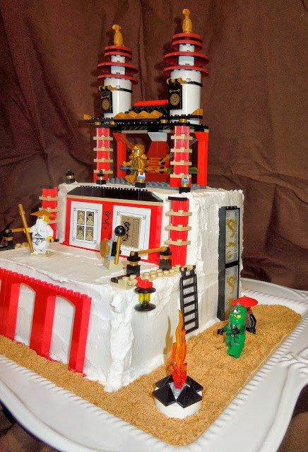 LEGO Ninjago Birthday Cake Gluten and Top 8 Allergy Free Lego