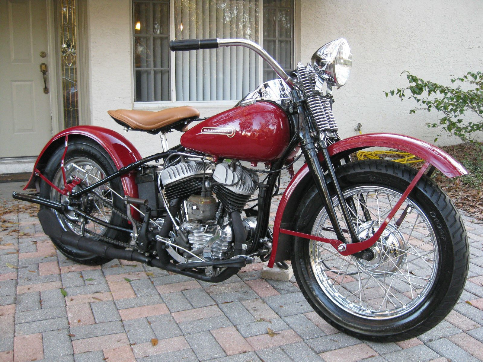 harley davidson other 1945 harley davidson flathead wla. Black Bedroom Furniture Sets. Home Design Ideas