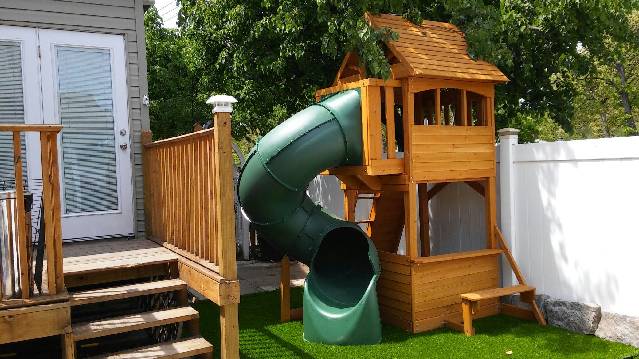 Forest hill retreat swing set cottage look