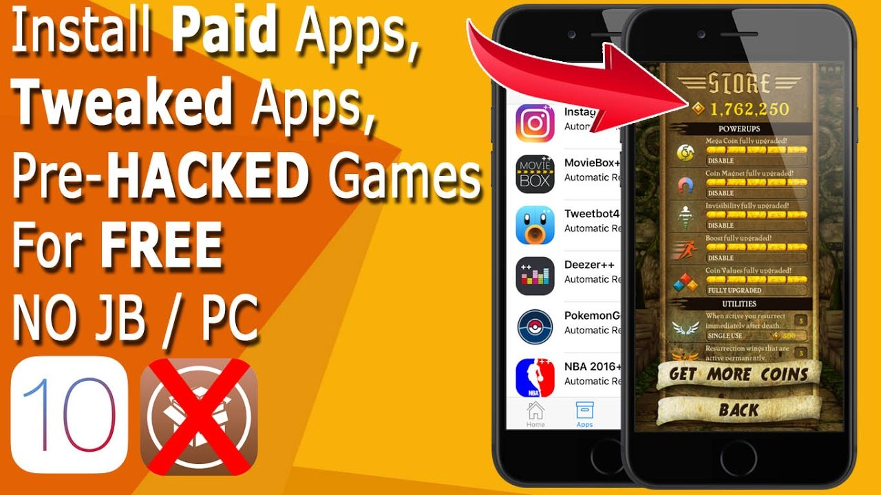 iCydia; Install Paid Apps, PreHacked Games, Tweaked Apps