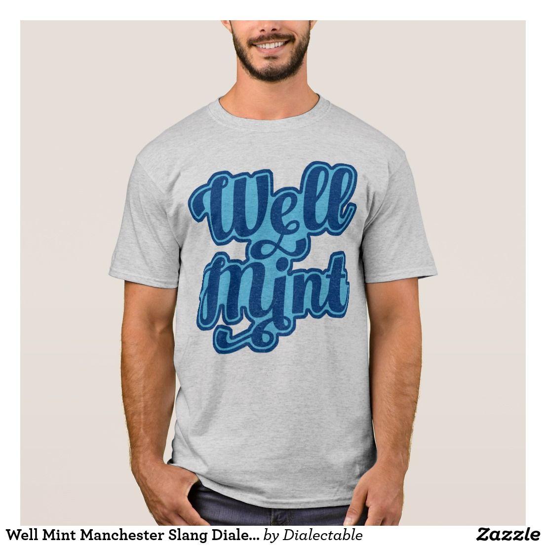 100/% Mancunian Manchester British Mancunian Mens T-Shirt