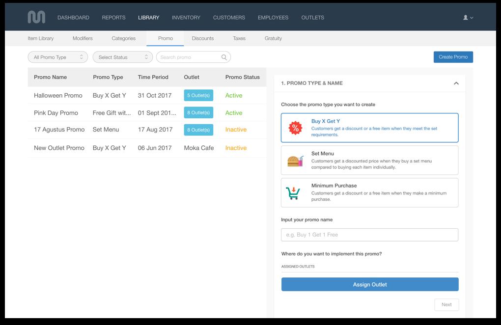 Point Of Sale Software Moka Pos System Moka Aplikasi