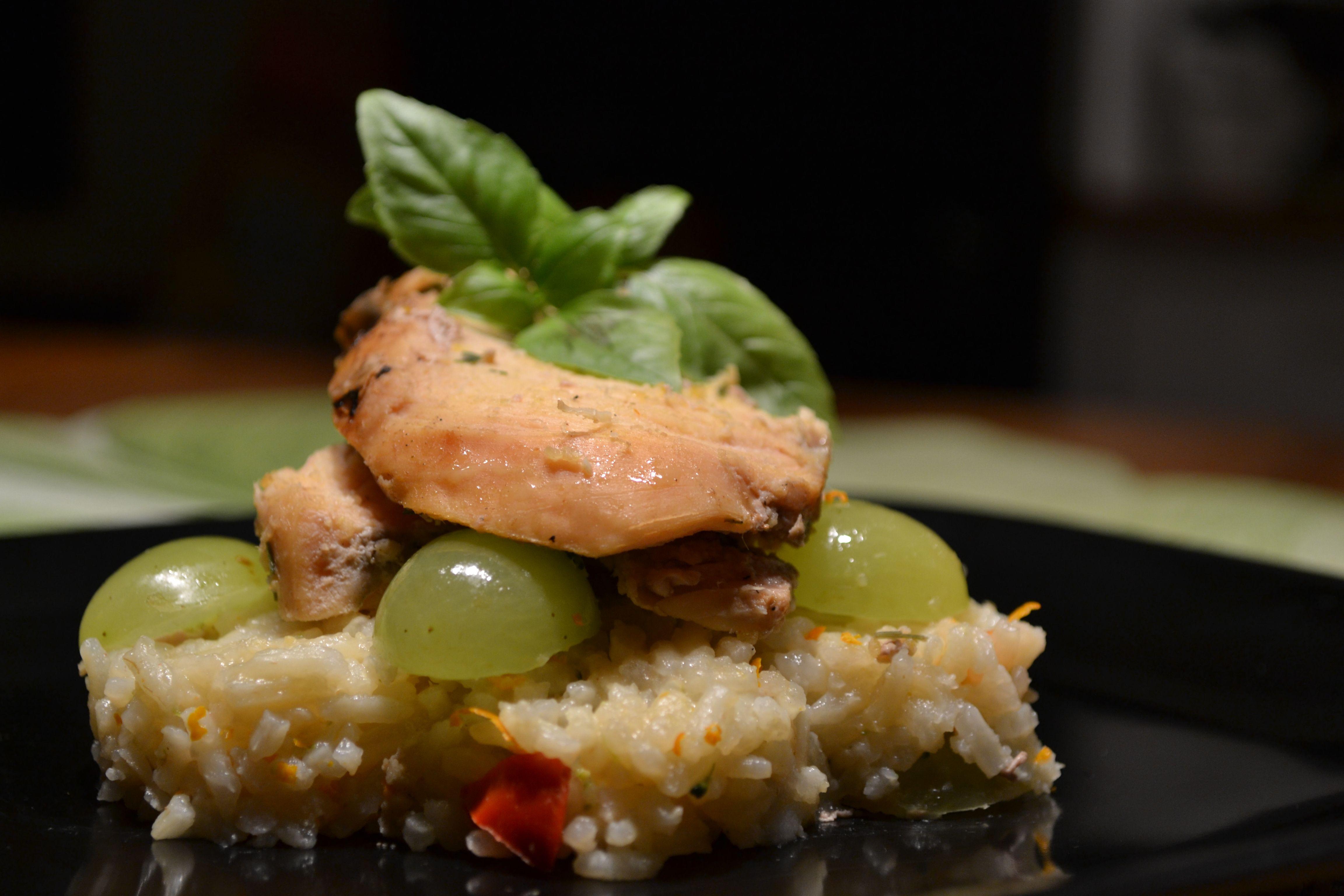 Chicken Veronique Today's Dish Chicken Veronique With Spring Ricepollo Horneado