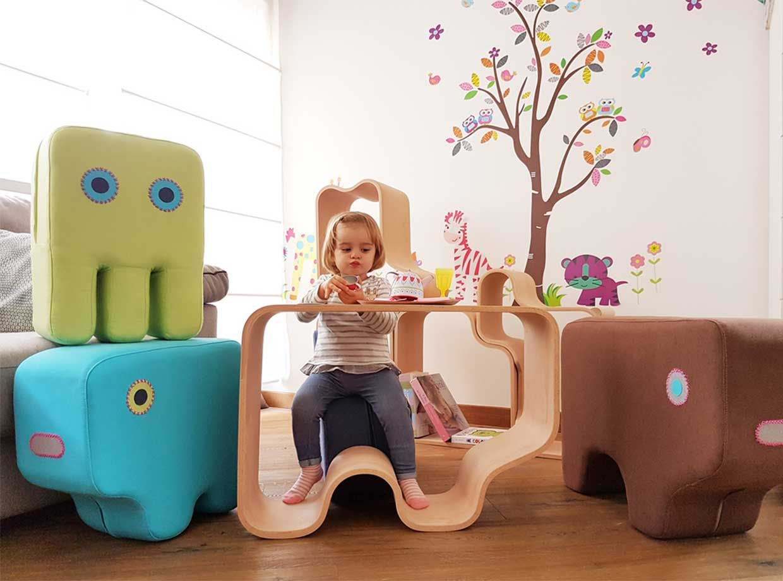 Animaze - play furniture by Designlibero | afilii - Design for kids