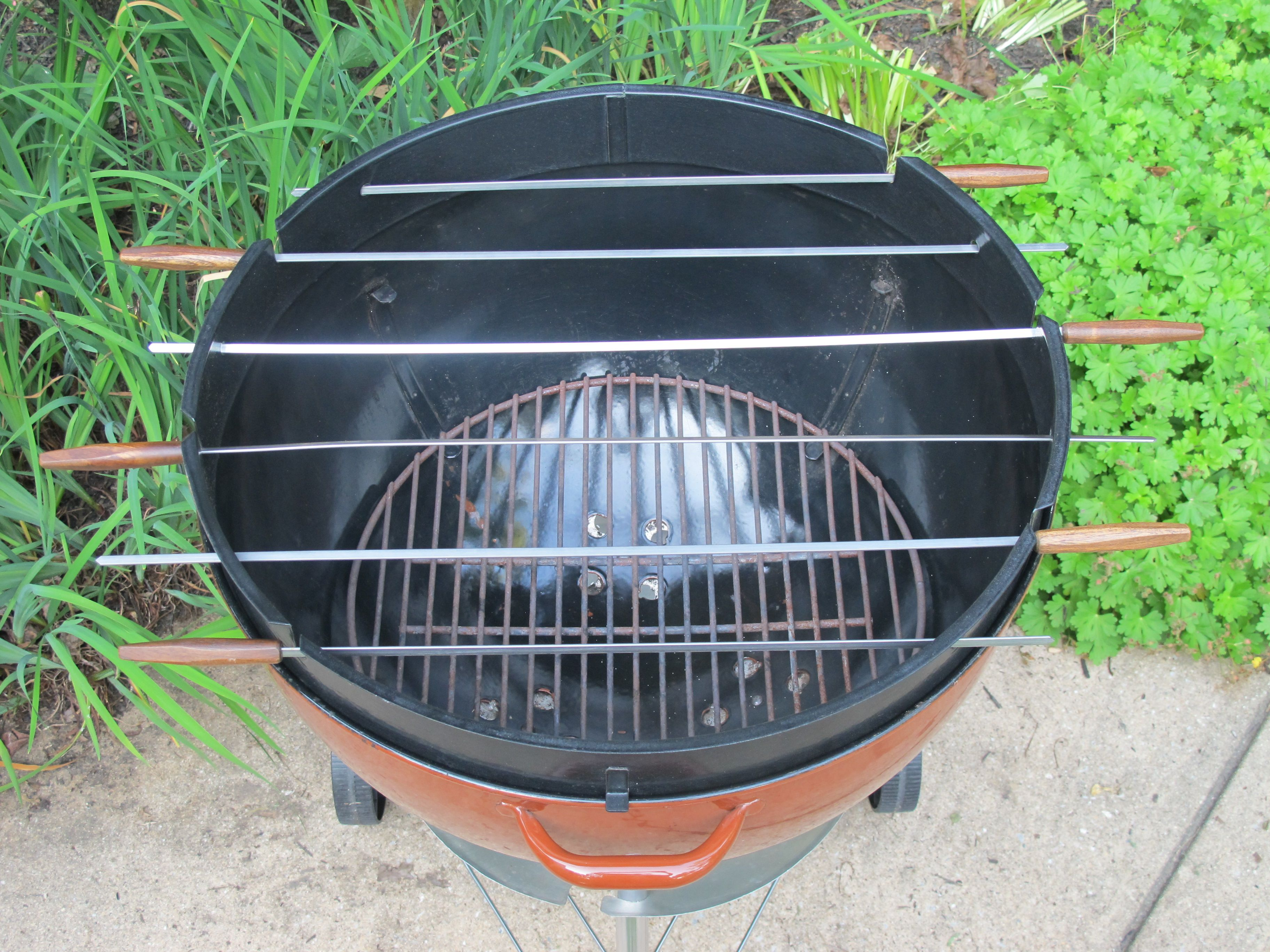 Weber Kabob Ring And Skewers Weber Grill Accessories Grill Accessories Weber Kettle