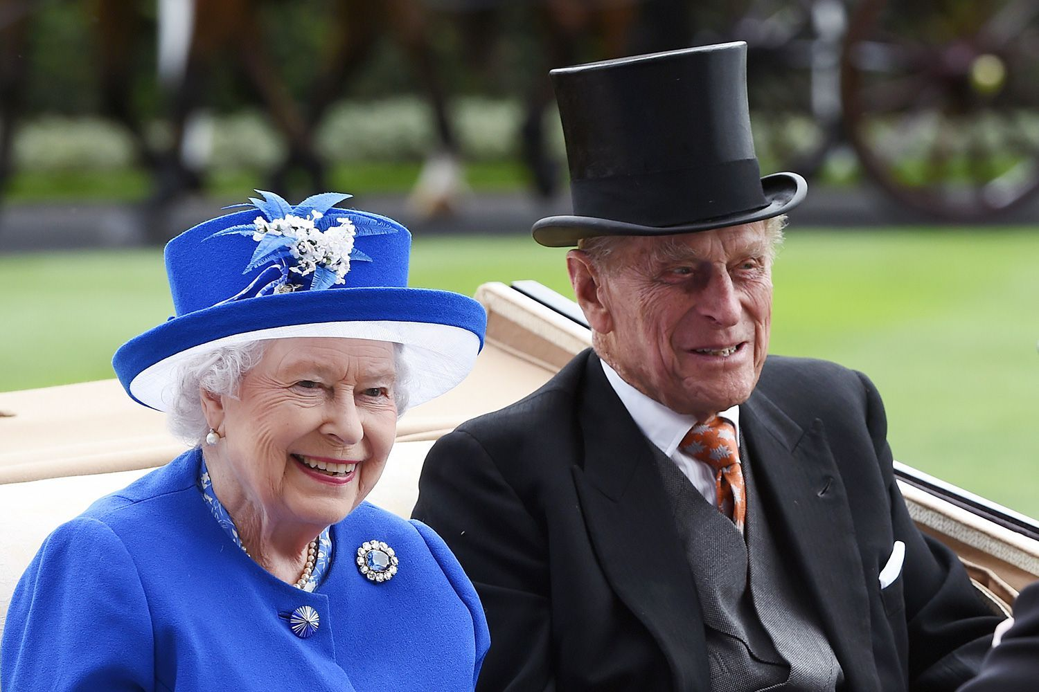How Queen Elizabeth II and Prince Philip Are Distantly